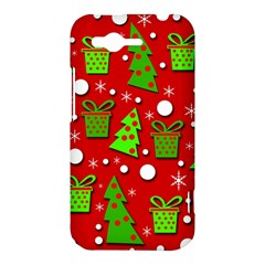 Christmas trees and gifts pattern HTC Rhyme