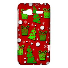 Christmas trees and gifts pattern HTC Radar Hardshell Case