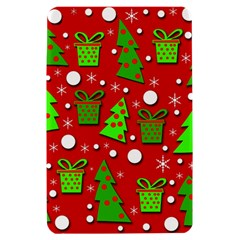 Christmas trees and gifts pattern Kindle Fire (1st Gen) Hardshell Case
