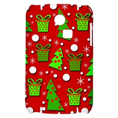 Christmas trees and gifts pattern Samsung S3350 Hardshell Case