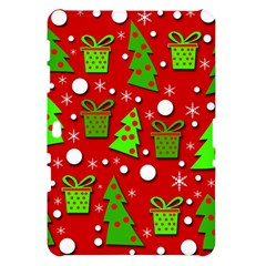 Christmas trees and gifts pattern Samsung Galaxy Tab 10.1  P7500 Hardshell Case