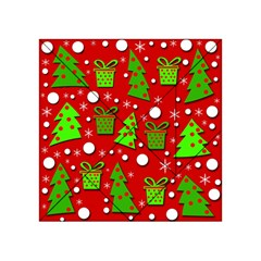 Christmas trees and gifts pattern Acrylic Tangram Puzzle (4  x 4 )