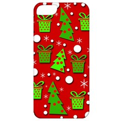 Christmas trees and gifts pattern Apple iPhone 5 Classic Hardshell Case