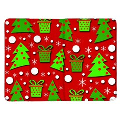 Christmas trees and gifts pattern Kindle Fire (1st Gen) Flip Case