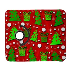 Christmas trees and gifts pattern Samsung Galaxy S  III Flip 360 Case