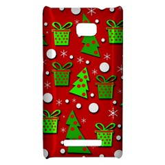 Christmas trees and gifts pattern HTC 8X