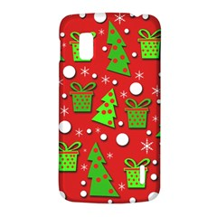 Christmas trees and gifts pattern LG Nexus 4
