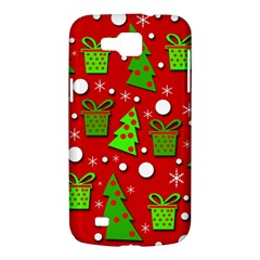Christmas trees and gifts pattern Samsung Galaxy Premier I9260 Hardshell Case