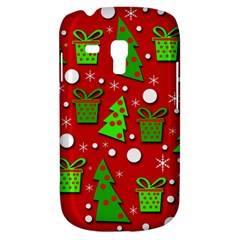 Christmas trees and gifts pattern Samsung Galaxy S3 MINI I8190 Hardshell Case