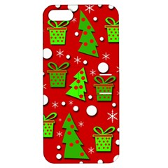 Christmas trees and gifts pattern Apple iPhone 5 Hardshell Case with Stand