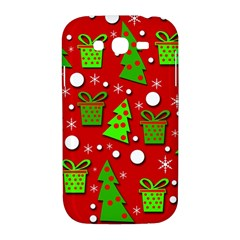Christmas trees and gifts pattern Samsung Galaxy Grand DUOS I9082 Hardshell Case