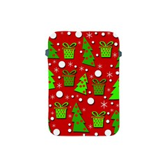 Christmas trees and gifts pattern Apple iPad Mini Protective Soft Cases