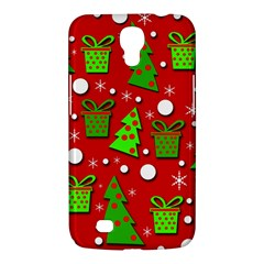 Christmas trees and gifts pattern Samsung Galaxy Mega 6.3  I9200 Hardshell Case