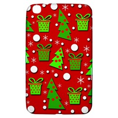 Christmas trees and gifts pattern Samsung Galaxy Tab 3 (8 ) T3100 Hardshell Case