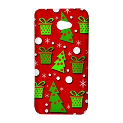 Christmas trees and gifts pattern HTC Butterfly S/HTC 9060 Hardshell Case