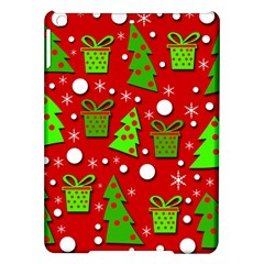 Christmas trees and gifts pattern iPad Air Hardshell Cases