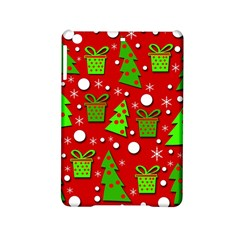 Christmas trees and gifts pattern iPad Mini 2 Hardshell Cases
