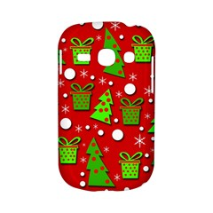 Christmas trees and gifts pattern Samsung Galaxy S6810 Hardshell Case
