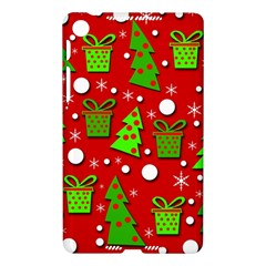 Christmas trees and gifts pattern Nexus 7 (2013)