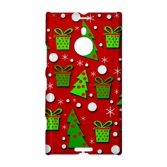 Christmas trees and gifts pattern Nokia Lumia 1520