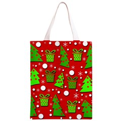 Christmas trees and gifts pattern Classic Light Tote Bag
