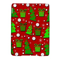 Christmas trees and gifts pattern iPad Air 2 Hardshell Cases