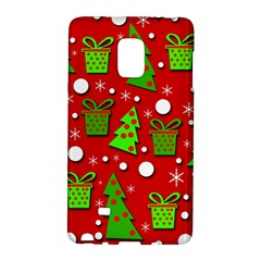 Christmas trees and gifts pattern Galaxy Note Edge