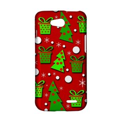 Christmas trees and gifts pattern LG L90 D410