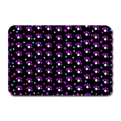Purple dots pattern Plate Mats
