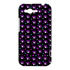Purple dots pattern HTC Rhyme