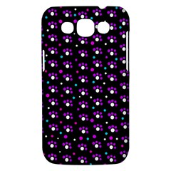 Purple dots pattern Samsung Galaxy Win I8550 Hardshell Case