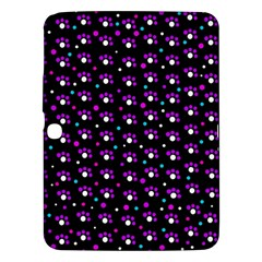 Purple dots pattern Samsung Galaxy Tab 3 (10.1 ) P5200 Hardshell Case