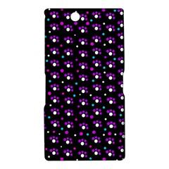 Purple dots pattern Sony Xperia Z Ultra
