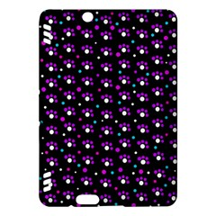 Purple dots pattern Kindle Fire HDX Hardshell Case