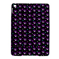 Purple dots pattern iPad Air 2 Hardshell Cases