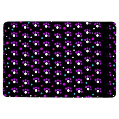 Purple dots pattern iPad Air 2 Flip