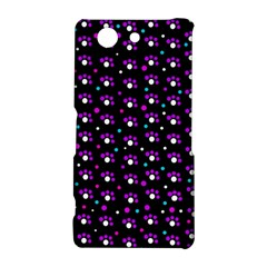 Purple dots pattern Sony Xperia Z3 Compact