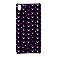 Purple dots pattern Sony Xperia Z3