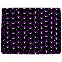 Purple dots pattern Jigsaw Puzzle Photo Stand (Rectangular)
