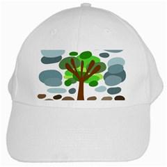 Tree White Cap