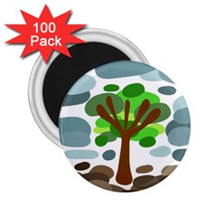 Tree 2.25  Magnets (100 pack)