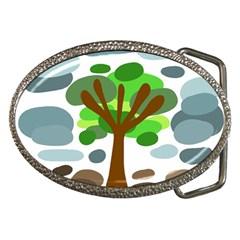 Tree Belt Buckles