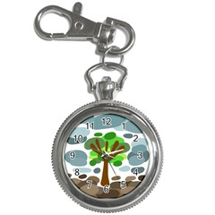Tree Key Chain Watches