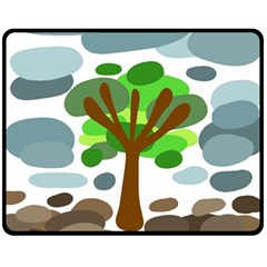 Tree Fleece Blanket (Medium)