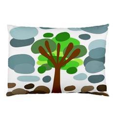 Tree Pillow Case (Two Sides)