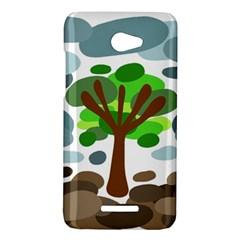 Tree HTC Butterfly X920E Hardshell Case