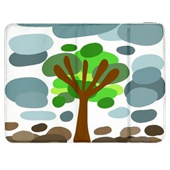Tree Samsung Galaxy Tab 7  P1000 Flip Case