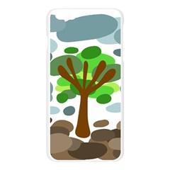 Tree Apple Seamless iPhone 6 Plus/6S Plus Case (Transparent)
