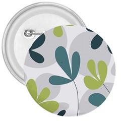 Elegant floral design 3  Buttons