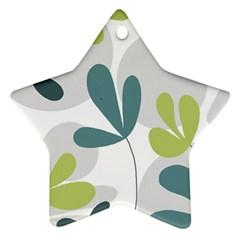 Elegant floral design Ornament (Star)